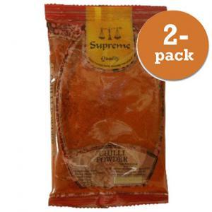 Chilipulver Mild 2x400g Supreme