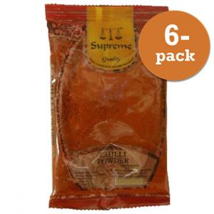 Chilipulver Mild Supreme 6x1kg