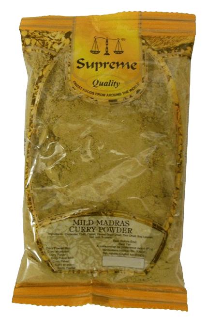 20st currypulver mild från Supreme om 100g vardera billigt hos Kolonialvaror. Alltid bra pris på skafferivaror i storpack. Perfekt för catering storhushåll restaurang och café. Vi levererar till hela Sverige!