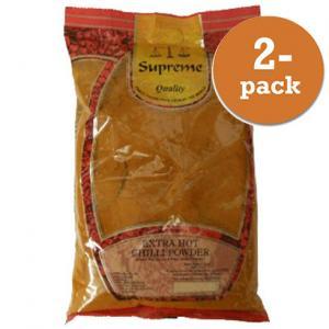 Chilipulver Extra Stark 2x400g Supreme