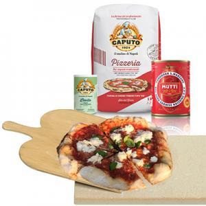 Pizzakit Gör Det Själv Inkl. Pizzasten & Spade