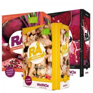 Juice Mix BiB 3x3liter RÅ (Bag-In-Box)