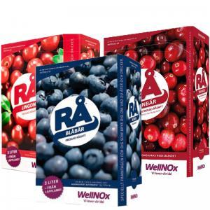 Juice Mix Bär BiB 3x3liter RÅ (Bag-In-Box)