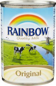 osötad mjölk på burk
