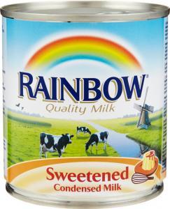 Sötad mjölk på burk