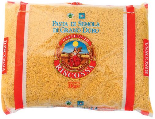 Capellini Tagliati No70 5x3kg Riscossa