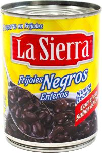 Svarta Bönor Hela 12x560g La Sierra