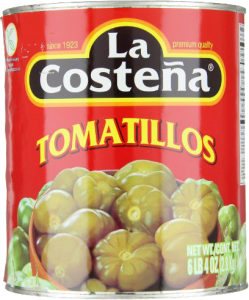 UTGÅTT - Tomatillos Hela Grön 12x790g La Costeña