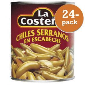 Serrano Chili 24x200g La Costeña