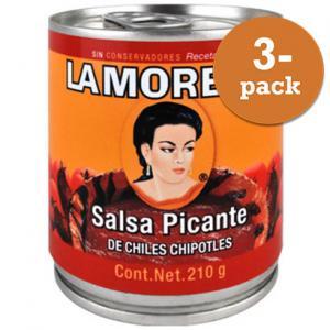 Salsa Picante 3x210g La Morena