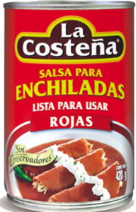 Salsa Enchilada 12x420g La Costeña