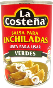 Salsa Enchilada Verde 12x420g La Costeña