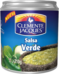 Salsa Verde 24x210g Clemente Jacques