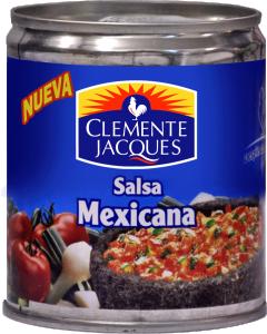 Mexikansk salsa mexicana från Clemente Jacques billigt hos Kolonialvaror. Alltid bra pris på skafferivaror i storpack. Perfekt för catering storhushåll restaurang och café. Vi levererar till hela Sverige!