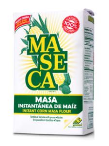 Majsmjöl från Maseca i 4pack om 1kg vardera. Leverans till hela sverige