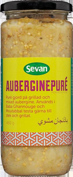 Auberginepuré 12x460g Sevan