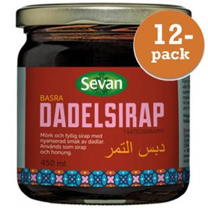 Dadelsirap 12x450ml Sevan