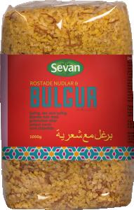 Bulgur Grov Rostade Nudlar Pilavlik 12x1kg Sevan