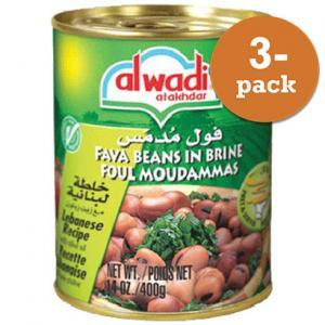Favabönor 3x400g Al Wadi