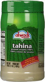 Sesampasta Tahina Från Al Wadi Här I Förpackning Om 12x454g