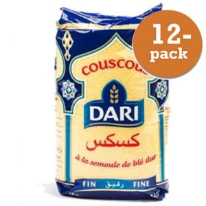 Couscous Fin 12x1kg Dari