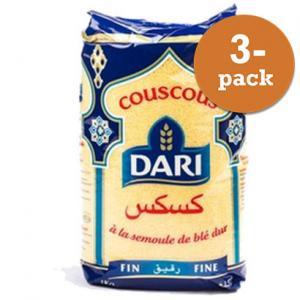 Couscous Fin 3x1kg Dari