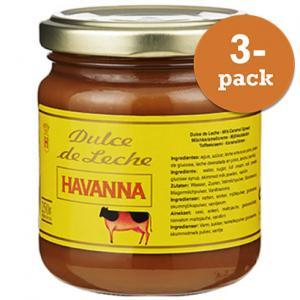 Dulce De Leche 3x250g Havanna