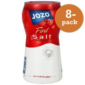 Salt Med Jod 8x600g Jozo