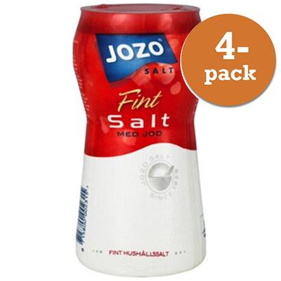 varför har man jod i salt