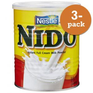 Nido Torrmjölk 3x400g Nestlé