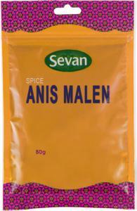 Anis Malen 1x50g Sevan KORT HÅLLBARHET