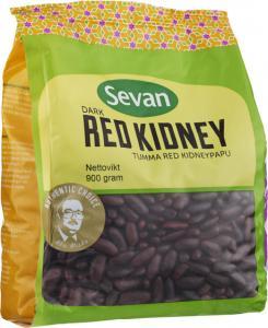 Kidneybönor Röda Dark 12x900g Sevan