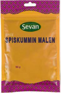 Spiskummin malen från Sevan. platshållare