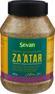 Zaatar manakish från Sevan