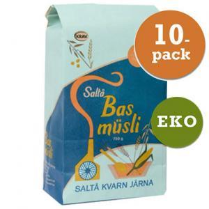 Müsli Bas Saltå Kvarn 10x750g