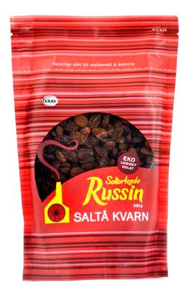Russin Soltorkade 3x500g Saltå Kvarn
