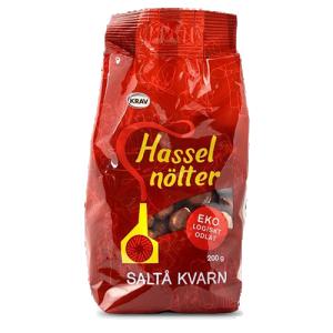 Hasselnötter 10x200g Saltå Kvarn