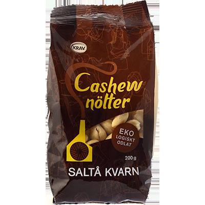 Cashewnötter Saltå Kvarn 10x200g