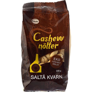 Cashewnötter 2x200g Saltå Kvarn