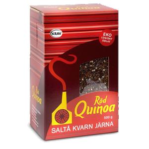 Quinoa Röd 12x500g Saltå Kvarn