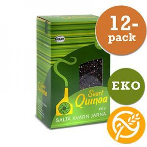 Quinoa Svart 12x500g Saltå Kvarn