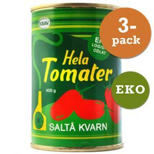 Tomater Hela 3x400g Saltå Kvarn