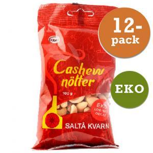 Cashewnötter Saltå Kvarn 12x100g