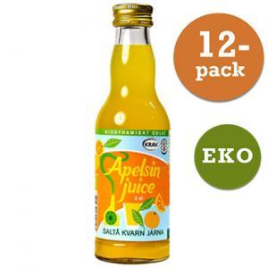 Apelsinjuice Eko Saltå Kvarn 12x200ml