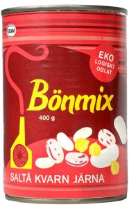 12st bönmix från Saltå Kvarn om 400g billigt hos Kolonialvaror. Alltid bra pris på skafferivaror i storpack. Perfekt för catering storhushåll restaurang och café. Vi levererar till hela Sverige!