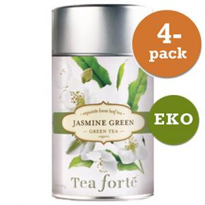 Grönt Te Jasmine Green, Eko 4x100g Tea Forté
