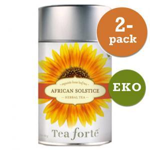 African Solstice, Rött Te 2x100g Tea Forté