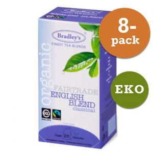 Te English Blend 8x25st Eko / Fairtrade Bradley´S