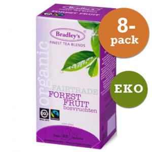 Te Forest Fruit 8x25t Eko / Fairtrade Bradley´S