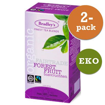 Te Forest Fruit 2x25t Eko / Fairtrade Bradley´S